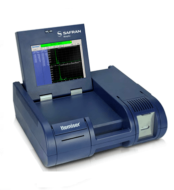 Itemiser 4DX Non-radioactive ionization source and simultaneous, dual-mode detection